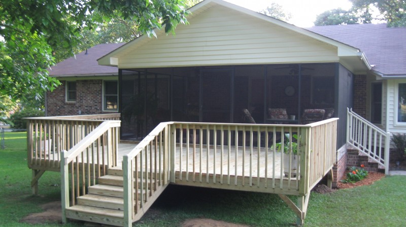 Screen Porch Deck Addition